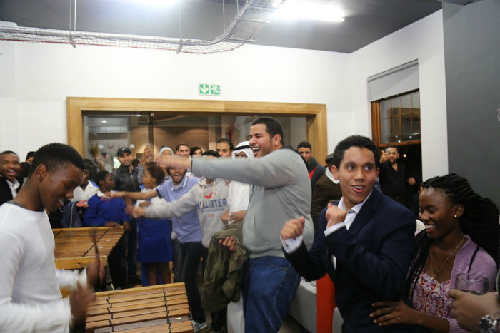 •	Arabic-South African exchange at EC Cape Town English Centre