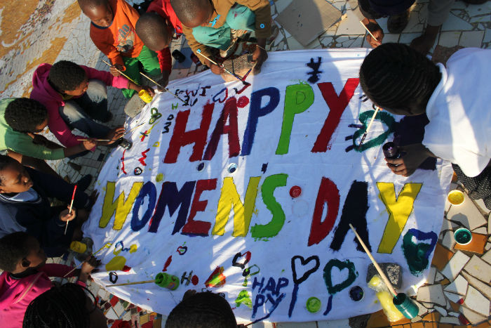 Women's day is held annually on August 9 in South Africa
