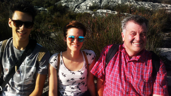 These smiles say it all. What a beautiful hike EC cape Town