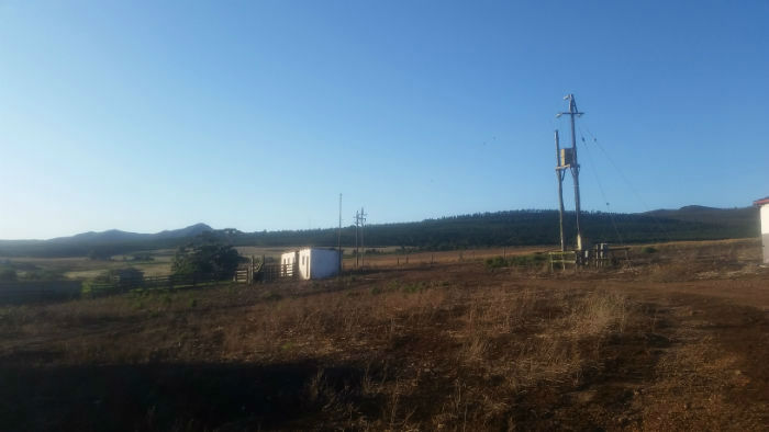 Here I am in the middle of nowhere, far from the city and far from EC Cape Town