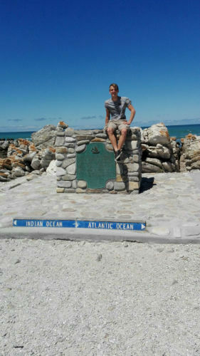 Cape Agulhas, the southern-most tip of Africa! Tick!