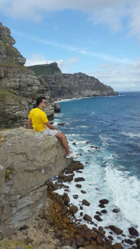 This is just one example of the beautiful views which EC Cape Town students get to enjoy