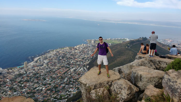 On top of the world at EC Cape Town