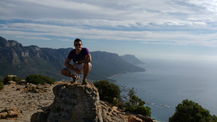 Braulio is an avid hiker and joined the EC Cape Town hikes as often as possible