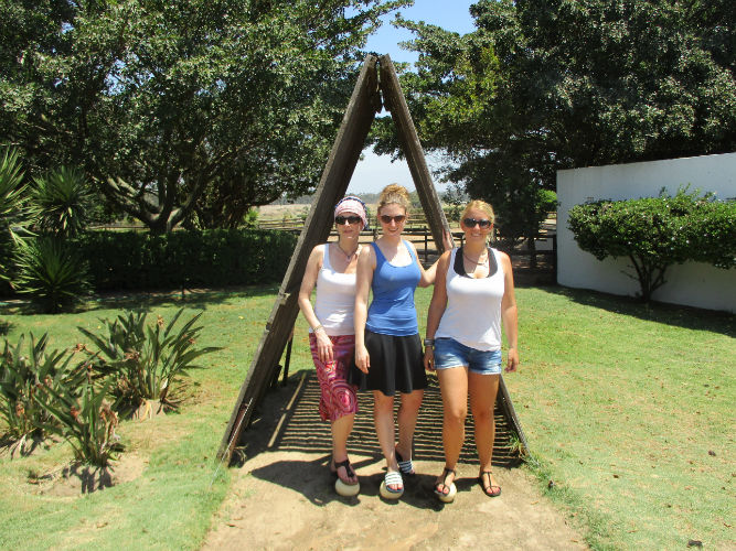 Denise and friends form EC Cape Town started their trip a hesitant of what to expect