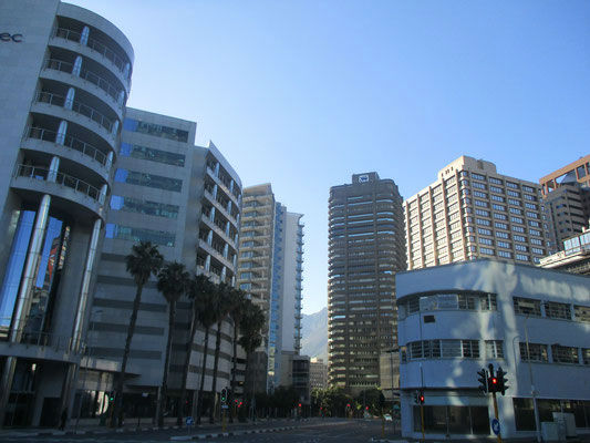 EC Cape Town is located in the heart of the city centre !