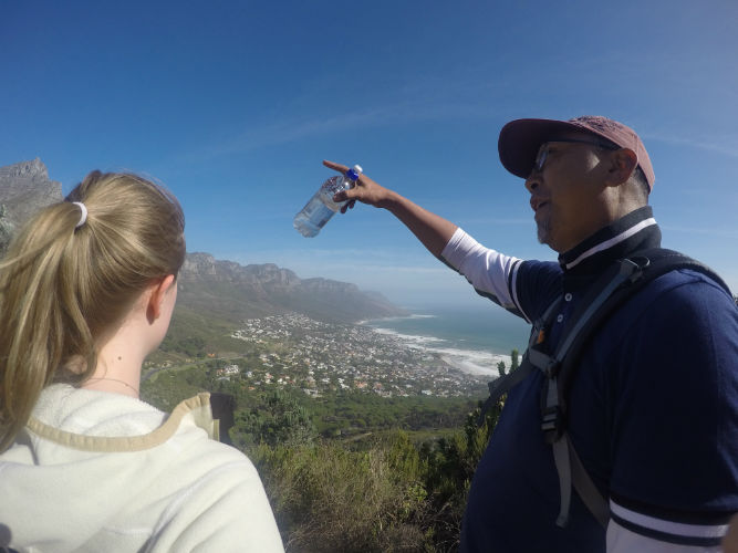 Marc is an accomplished hiker and we are lucky to have him at EC Cape Town