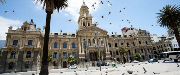 The City Hall and Parade is always bustling with people and pigeons. It remains an iconic space in Cape Town