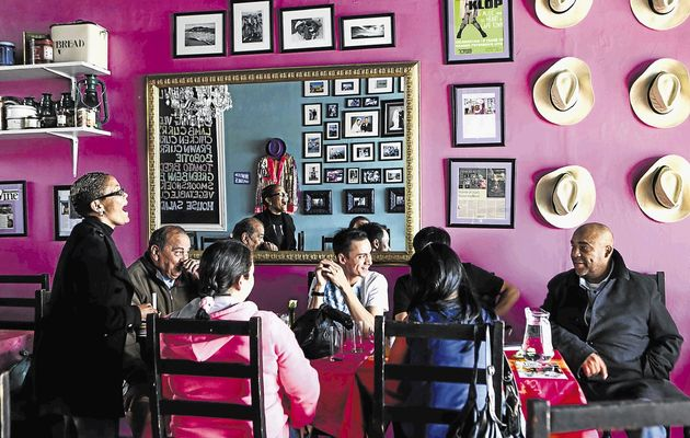 District six cafe is not just a coffee shop, it is a meeting place for people to celebrate and share.