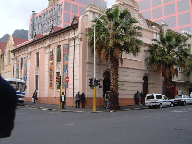 The District six stands proudly in Buitenkant Street, cape Town