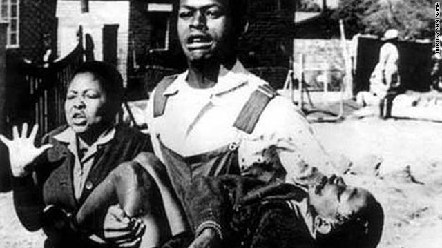Hector Petersen has become an iconic name in the struggle for freedom. Here his body is being carried by a friends on that fateful day June 16, 1976
