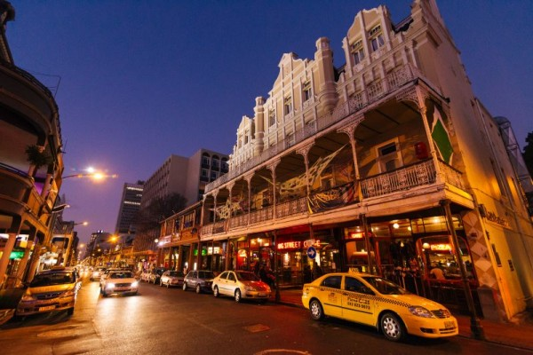 Long street is the centre for the young at heart in Cape Town