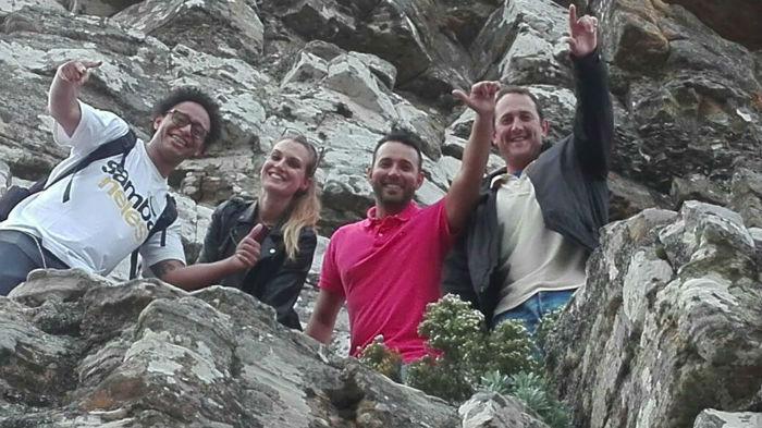 EC Cape Town students having a happy moment