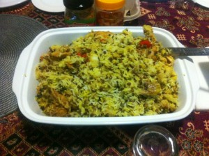 Traditional Cape Malay cuisine - Breyani