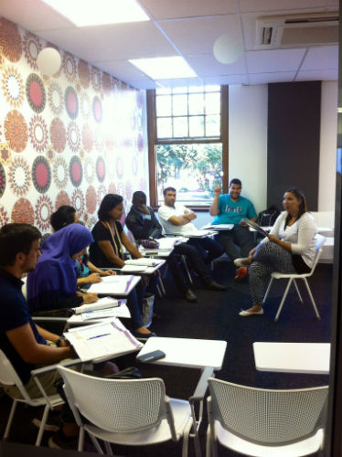 The modern classes at EC Cape Town