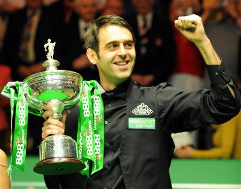 Ronnie 'The Rocket' O'Sullivan, the game's most talented player