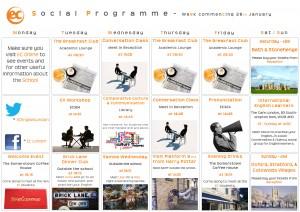 social programme - January 28th