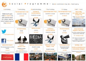social programme - Feb 25th