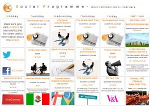 social programme - Feb 4th