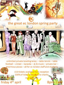 EC London Spring Party
