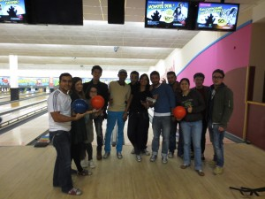 Bowling with EC London