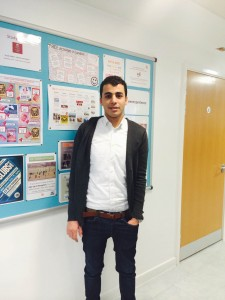 Saleh talks about his experience while participating in ESOL courses in London
