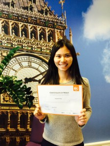 Ginger Huang, ESOL in London