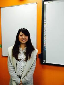 Yukiko, intensive english course