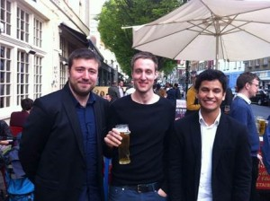 Ahmet, Andy and Santiago, ESOL in London