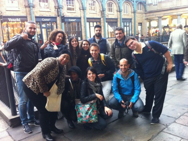 Students from school of English EC London