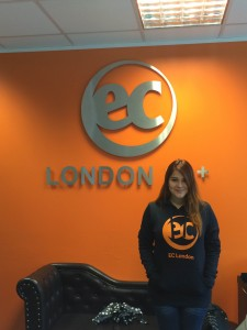 Priscilla's special experience when starting an English course at EC London