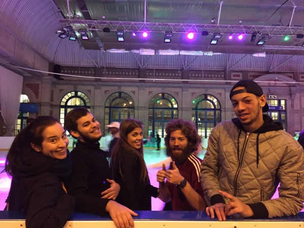 EC London English Language students at Alexandra Palace