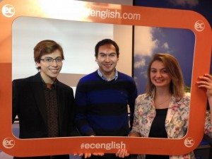 Giovani share his experience at EC London school of English