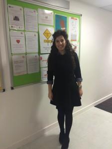 Sedef at EC English school in London