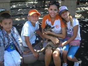 Elena, 'Horny' & kids