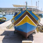 Luzzu Fishing Boat