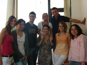 Cambridge ESOL Class with Teacher Marco Brown