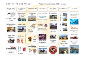 Social Programme Week 20th Jan. 2014 (NEW)