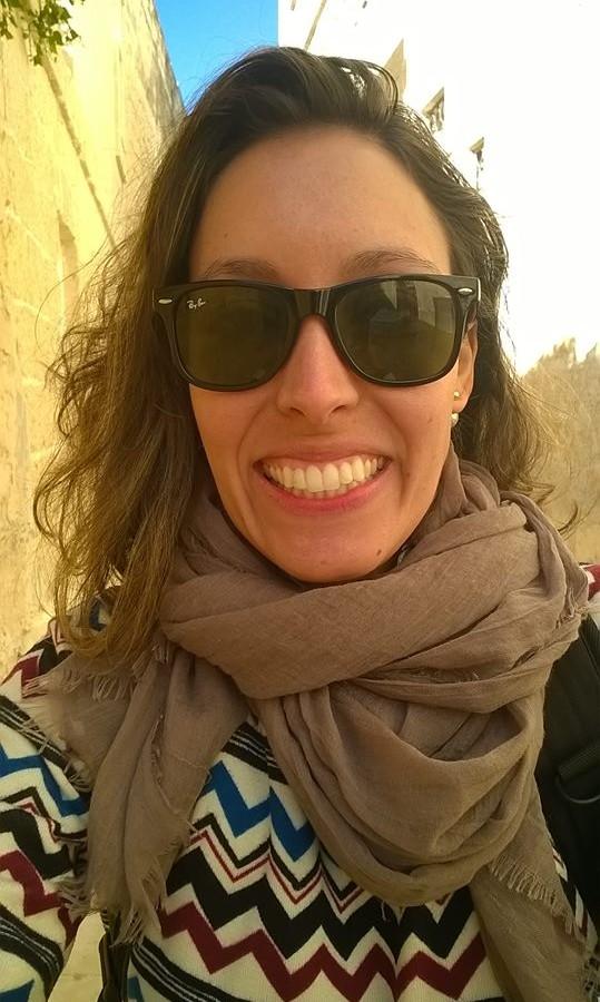 •Carolina from Brazil thanks EC Malta English School Teachers