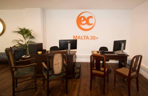 EC Malta 30+ is an English School for Adults