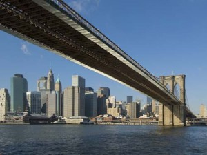 The magnificent Brooklyn Bridge