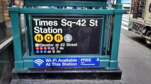 NY metro has wifi