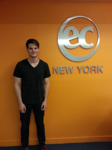 Michael - a recent EC New York Cambridge ESOL Preparation course graduates
