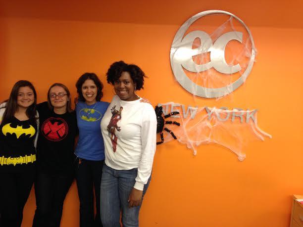 Superhero Day at EC New York