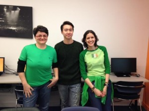 EC Students Wear Green