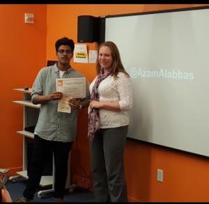Azam Gives AY Lecture