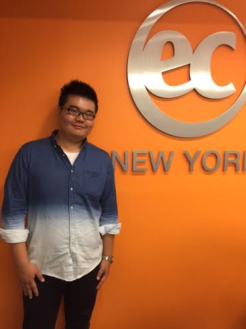 EC student ambassador Ding - EC is an ESL New York Learning Center