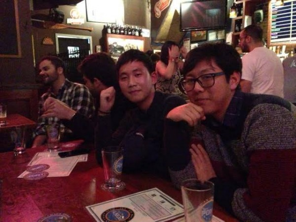 EC English Language students having fun in New York
