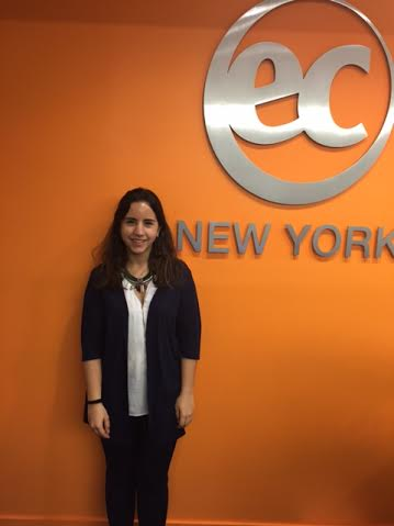 EC student ambassador Mafalda - EC is an ESL New York Learning Center