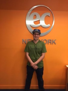 Alvaro from Chile improves his English at EC New York